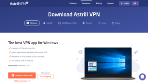 Astrill VPN Client for Windows