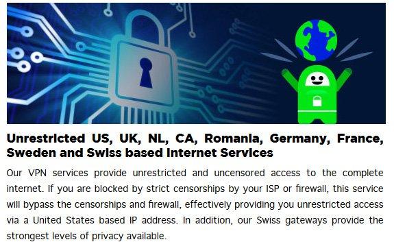 PrivateInternetAccess Server